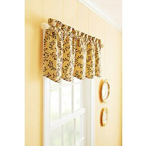 Better Homes And Gardens Tuscan Retreat Kitchen Tiers, Set Of 2 Or Valance