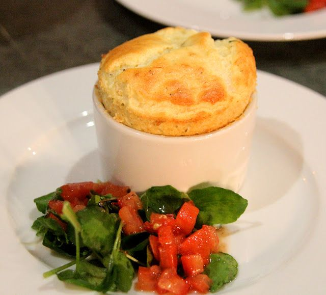 A savoury soufflé is essentially a white sauce, what the French call a Béchamel, seasoned and flavoured with aromatics such as black...