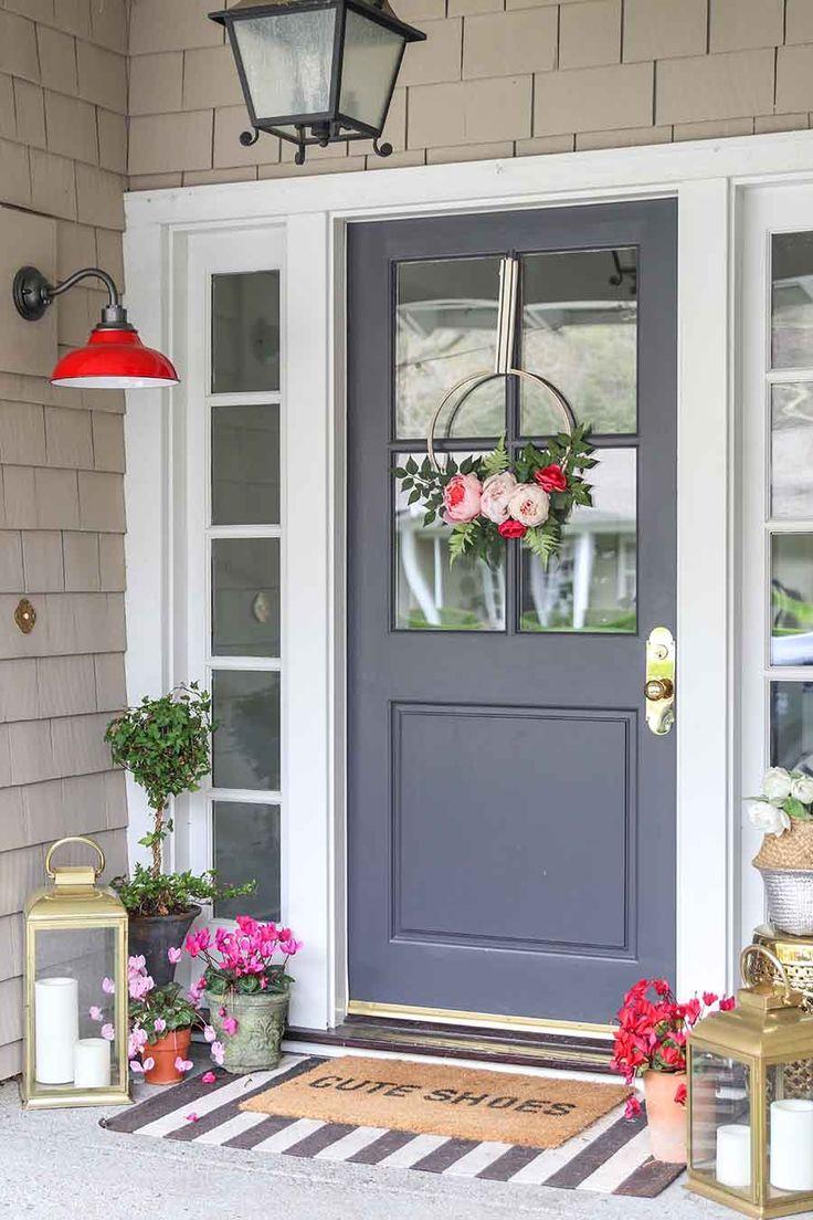 21+ Front door entrance decorating ideas trends