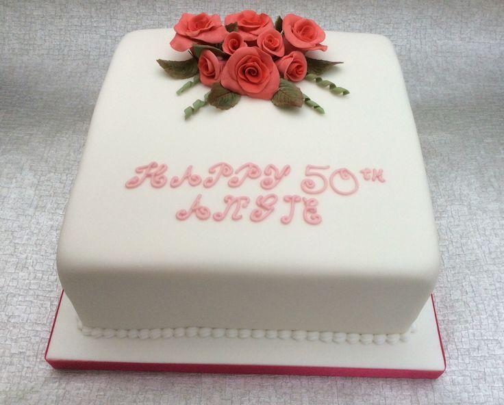A rose cake