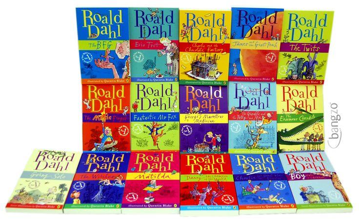Roald Dahl 15 Book Box Set (Slipcase) Includes Matilda ...