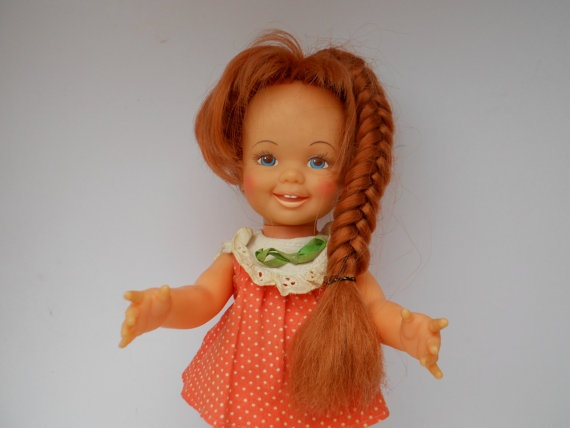 Vintage Doll ~ Cinnamon Growing Hair Doll Ideal Toy ...