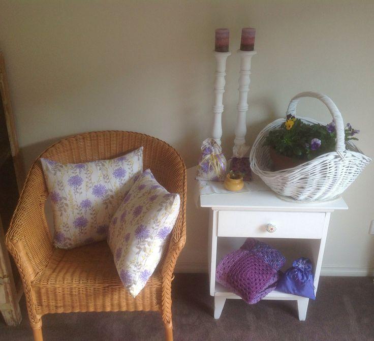 Lilac and Lemon.