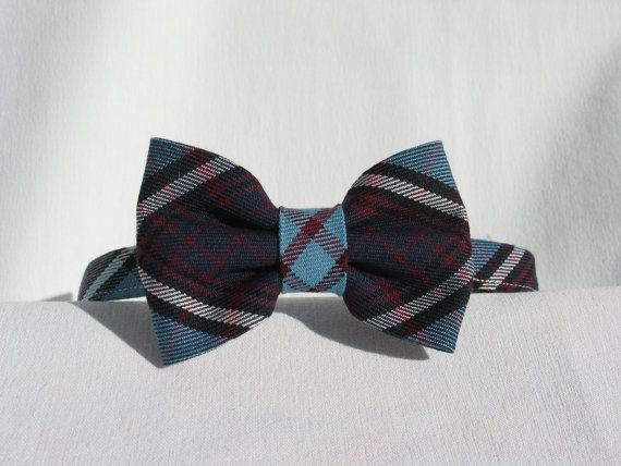 RCAF Royal Canadian Air Force Tartan Bow Tie  Man by dolldressedup