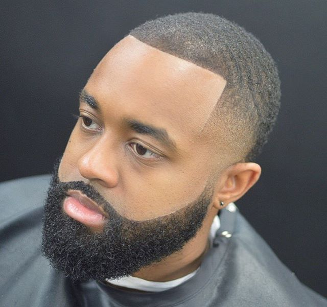 how to grow a full beard black man
