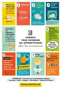 10 conseils (et plus encore) pour favoriser les apprentissages selon les neurosciences