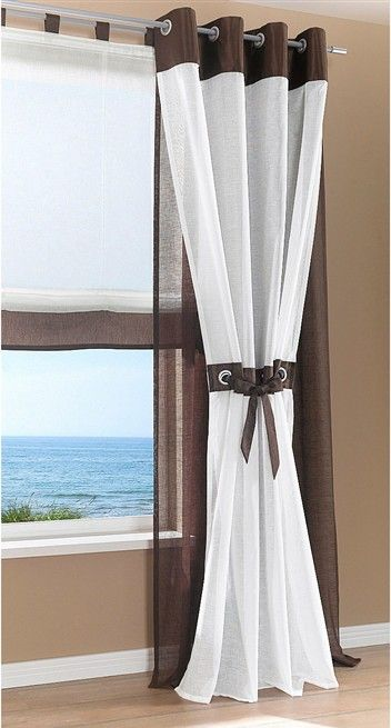 34 best gardines images on pinterest blinds sheet. Black Bedroom Furniture Sets. Home Design Ideas