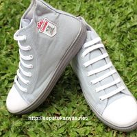 Sepatu Kanvas -  Casual Warna abu Ciarmy Type SKC-02