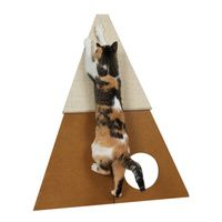SmartCat Bootsie's Corner Scratcher for Cats *NEW* with Hidey Hole