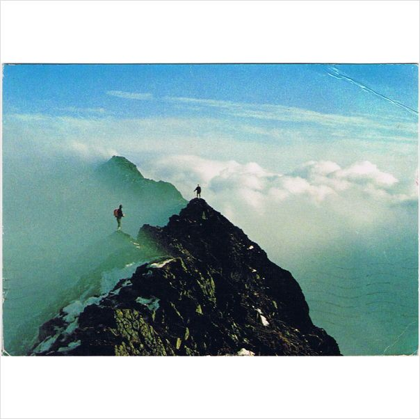 Lake District ~ Striding Edge, Helvellyn ~ postcard with 1986 postmark on #eBid United Kingdom