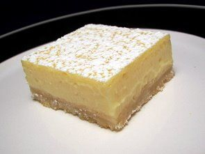 Creamy Lemon Squares... you know anything with sweetened condensed milk is gonna be delicious!