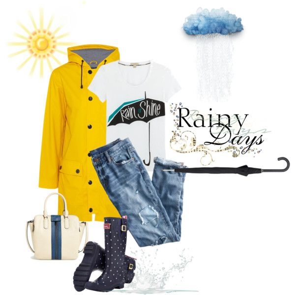 """""""Rain or shine"""" by natcatt on Polyvore"""