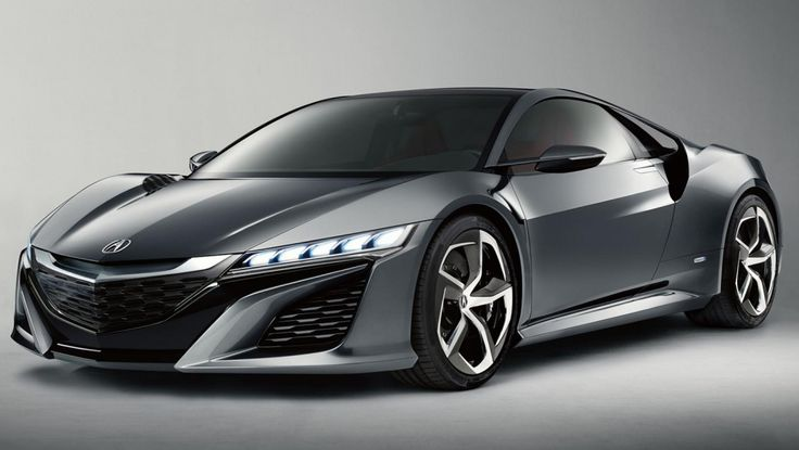 Acura-NSX hybrid supercar