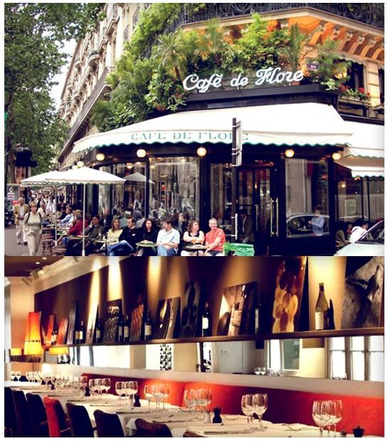 Café de Flore + Café Moderne @ Paris