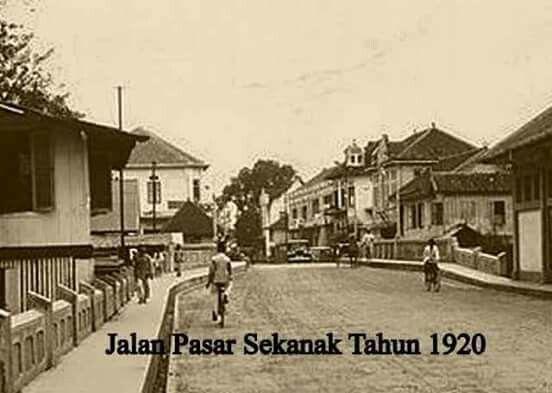 Jl. Pasar Sekanak, Palembang 1920