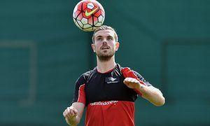 Liverpools Jordan Henderson could make Europa League final against Sevilla
