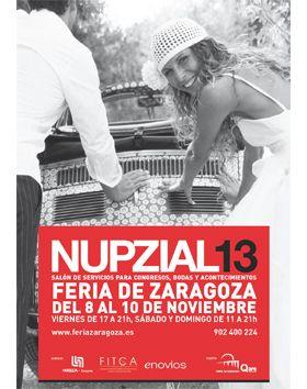 Llega Nupzial 2013 a Zaragoza.
