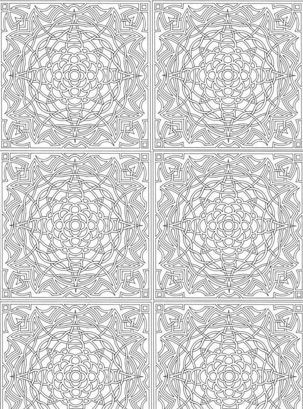 ausmalbild abstrakten mustern fur erwachsene abstract voor volwassenen mandala pinterest. Black Bedroom Furniture Sets. Home Design Ideas