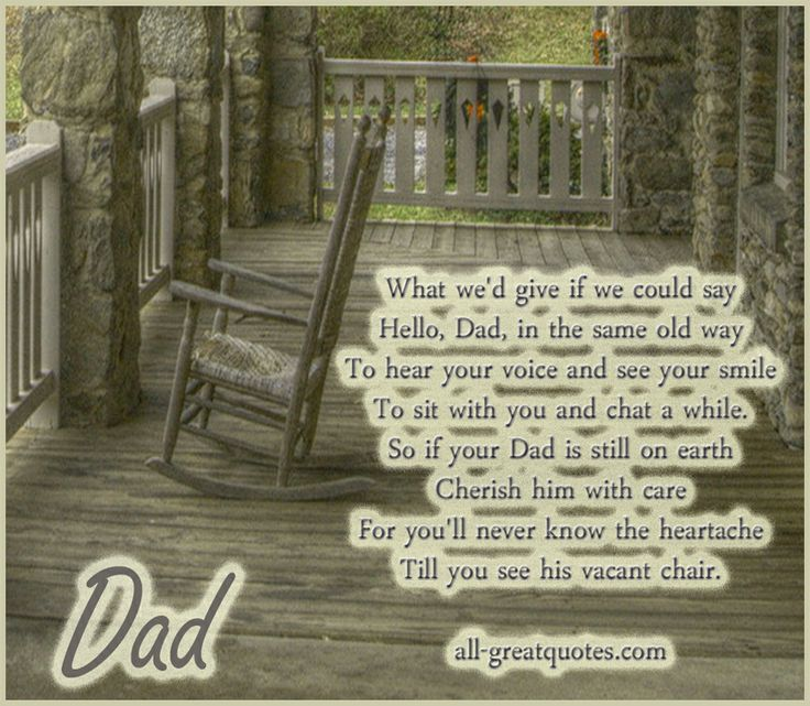 father memories quotes | Memory Cards – Dad – What we'd ...