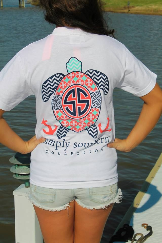 Preppy Turtle Tee- $19.99 #SouthernFriedChics