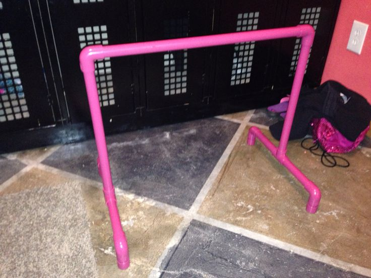 Toddler ballet bar made for a very special little girls birthday. View this and more on my Facebook page at www.facebook.com/letspaintbykelly