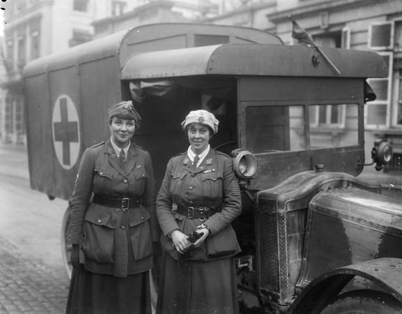Image result for ambulance women drivers ww2 uk