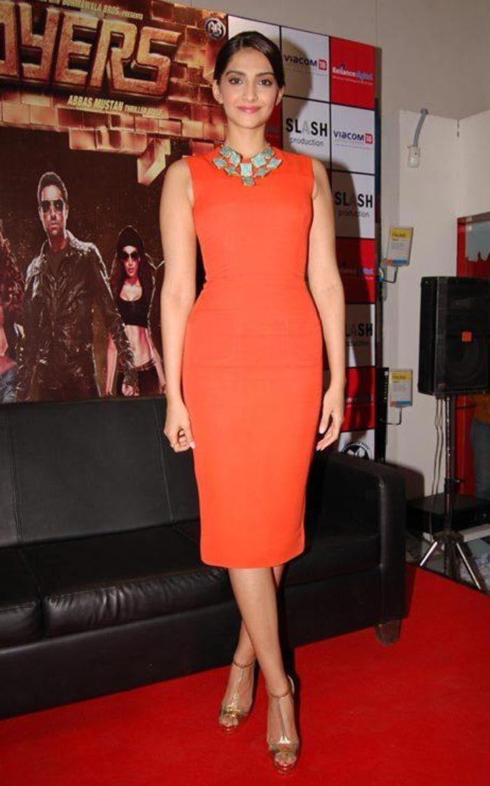 Sonam Kapoor red hot.