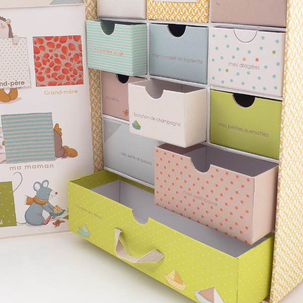 My Sweet Muffin - Moulin Roty Keepsake Memory Box