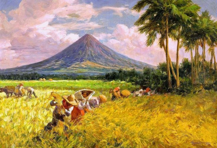 43 Best Fernando Amorsolo Paintings Images On Pinterest