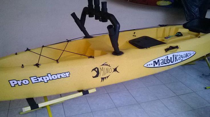 Soporte para cañas de pesca Kayak
