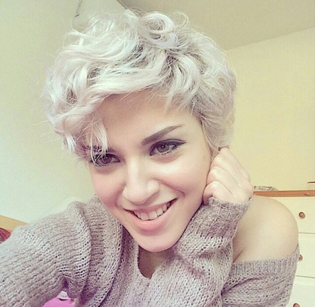 Awesome 1000 Ideas About Curly Pixie Cuts On Pinterest Curly Pixie Hairstyles For Men Maxibearus