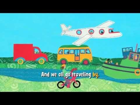 Tot School Week 1: Transportation Theme - The Ox Mama