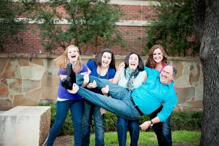 Family, Photoshoots, Large family photo ideas, dad and daughters
