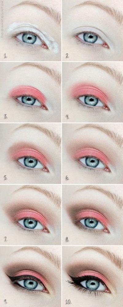 Mango Tango Eye Makeup Tutorial
