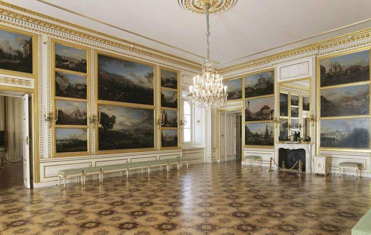 Sala Canaletta w Zamku Królewskim w Warszawie