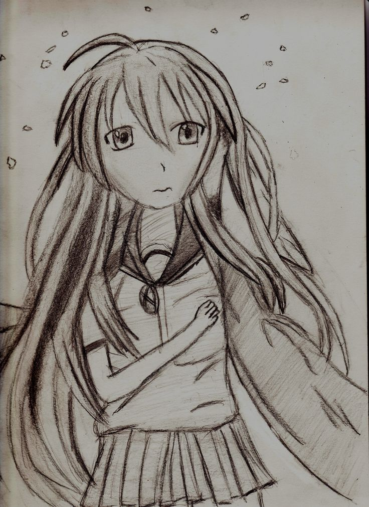 Shana shakugan no shana shaded by animenewsdaily deviantart com on deviantart