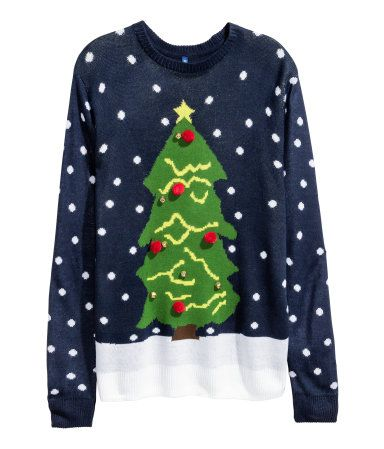 H&M Sweater with Christmas Motif