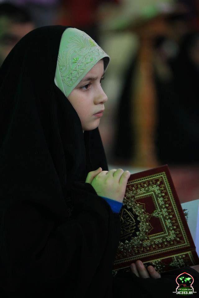 Young Girl in Overhead Abaya
