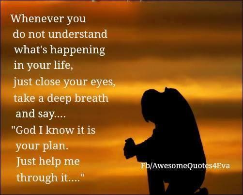 God help us through it.... Amen ️ Prayer from the