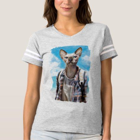 Sphynx cat. tourist. t-shirt - tap to personalize and get yours