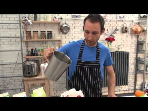 Recept 1: Arla Aardbeien yoghurtijs