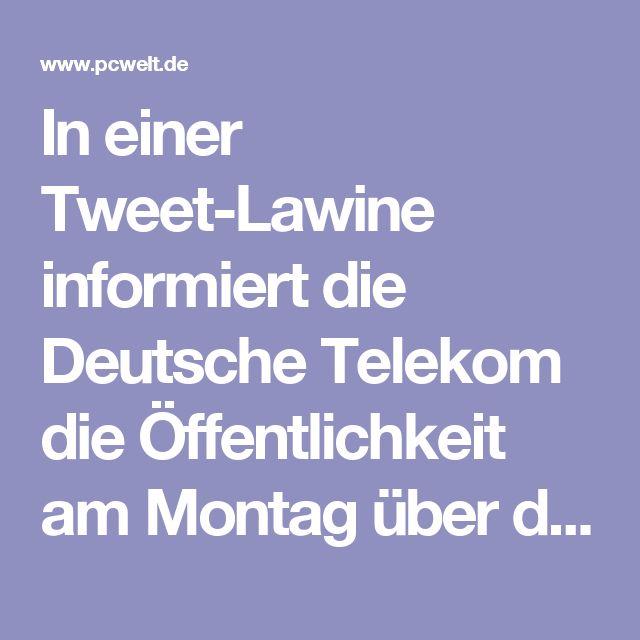 In einer Tweet-Lawine informiert die Deutsche Telekom die Öffentlichkeit am Montag über den Netzausbau. Demnach erhalten tausende Haushalte nun die Möglichkeit für eine schnellere Internet-Verbindung. Im Minutentakt gehen im Twitter-Kanal der Deutschen Telekom neue Tweets online, in denen über den Netzausbau informiert wird. Den Anfang machte in den Morgenstunden ein Tweet über den Ausbau in Berlin, von dem 51.000 Haushalte profitieren.  In dieser Woche werden laut diesem Tweet der…