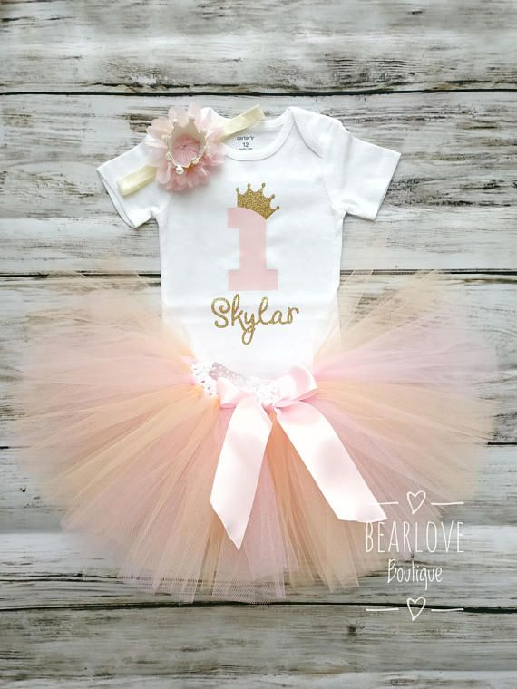Princess Birthday Outfit  1st Birthday Outfit  First