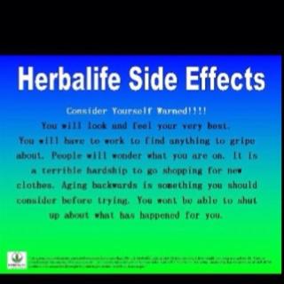 Herbalife side effects