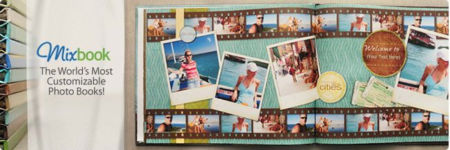 Mixbook photobook creator allows you to choose layouts and backgrounds along with customizable frames and text to make your own book. Just pick a layo…