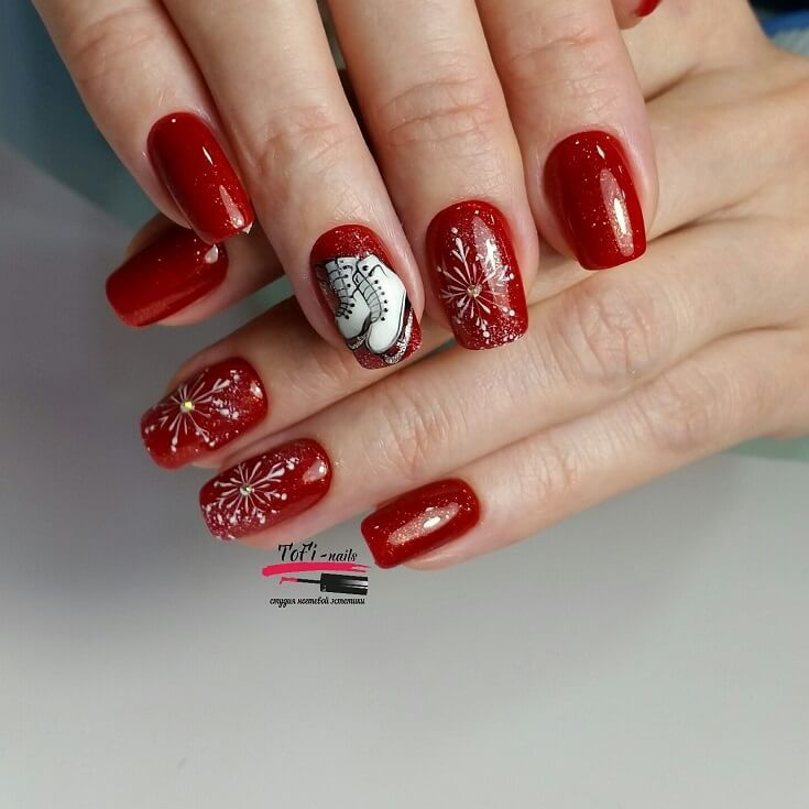 107 best Winter nail art design 2017/2018 images on Pinterest | Nail ...