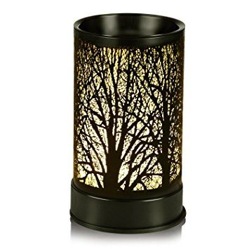 Electric Oil Warmer Fragrance Lamp Scent Oil Warmers Aroma Warmer Air Freshener Aromatherapy Accessory Review