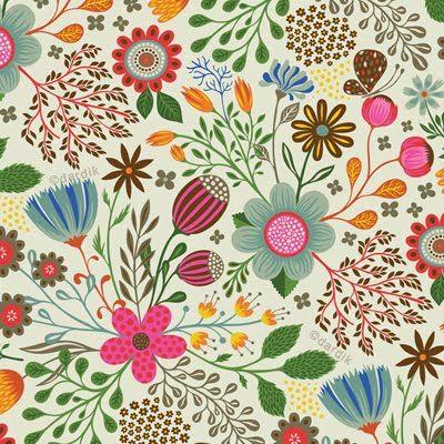 Lovely Pattern by the talented Helen Dardik