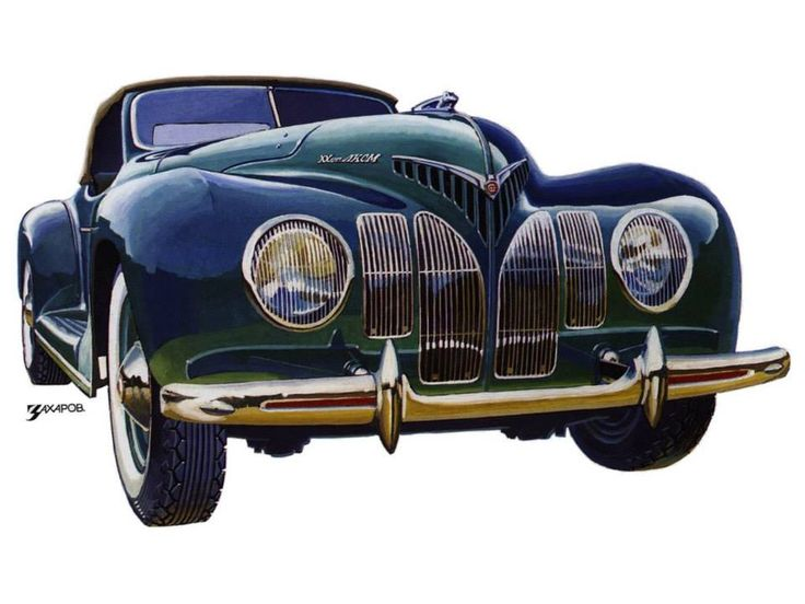 """1939 ZiS 101A Sport Coupe Built on the chassis of a seven-seater limousine, the one-and-only ZiS-101A Sport Coupe was built by the Soviet VMS factory. """"One and only"""" is quite literal because there was only one single Sport Coupe built. Collectors and historians have been in search of it since the war, but so far, no sign. It may have been destroyed, nobody knows. https://www.google.co.uk/?gfe_rd=cr&ei=abvdVKDRMaet8weev4DgCw&gws_rd=ssl#q=1939+ZiS+101A+Sport+Coupe+"""