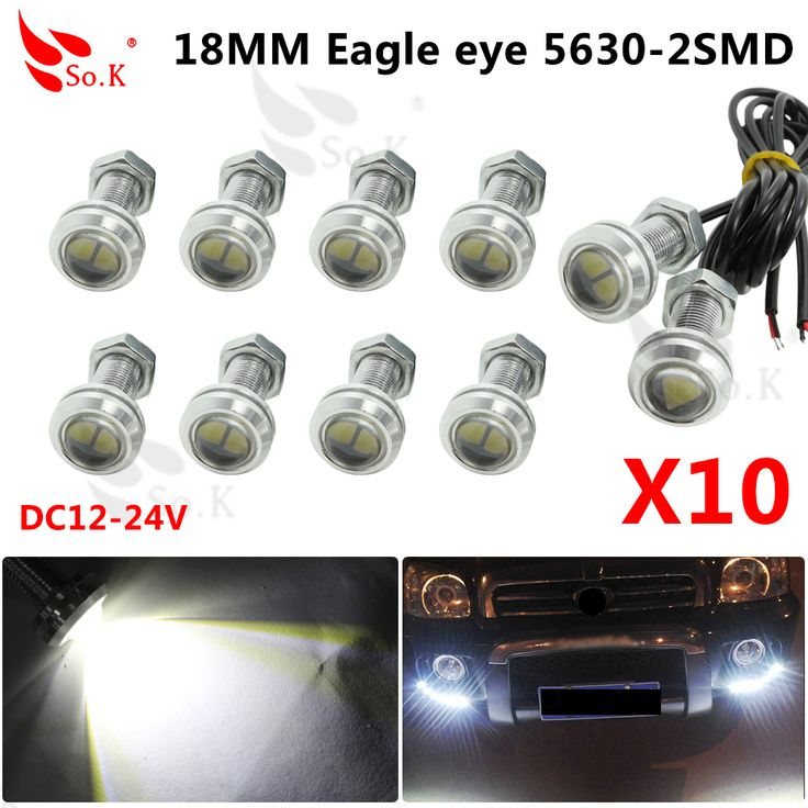 Trend x Eagle Eye v mm White Eagle Eyes Auto Lamp Led Eagle Eye Drl Feux